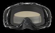 Crowbar® Sand MX Goggles - Jet Black