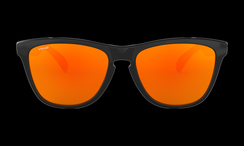 Frogskins™ Valentino Rossi Signature Series Polished Black Sunglasses   Oakley® US