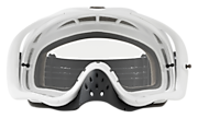 Crowbar® MX Goggles - Matte White Speed