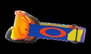 Crowbar® MX Goggles - Biohaz Orange/Blue
