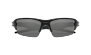 Flak® 2.0 - Polished Black / Black Iridium Polarized