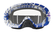 O-Frame® 2.0 MX Goggles - Skull Rushmore Purple Blue