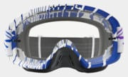 O-Frame® 2.0 MX Goggles - Skull Rushmore Purple Blue