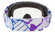 O-Frame® 2.0 MX Goggles - Skull Rushmore Purple Blue / Clear