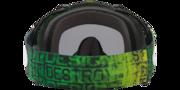Mayhem™ Pro MX Goggles - Distress Tagline Green Yellow