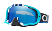 Crowbar® MX Goggles - Pinned Race Blue White