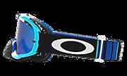 Crowbar® MX Goggles - Pinned Race Blue White