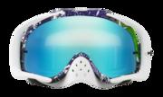 Crowbar® MX Goggles - Factory Splatter Green Purple