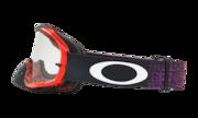 Crowbar® MX Goggles - Distress Tagline Orange Purple