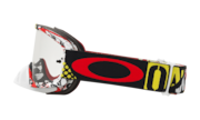 O-Frame® 2.0 MX Goggles - Mosh Pit Red Yellow / Clear