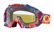 Proven® MX Goggles - Podium Check Red/Black / Clear