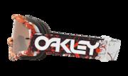 O-Frame® MX Goggles - Factory Splatter Blood Orange / Black Iridium