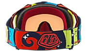 Mayhem™ Pro MX Goggles - Troy Lee Designs Phantom Red Blue