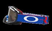 Crowbar® MX Goggles - Blockpass Red White Black