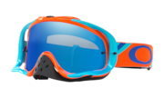 Crowbar® MX Goggles - Heritage Racer Orange Blue
