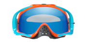 Crowbar® MX Goggles - Heritage Racer Orange Blue