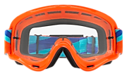 O-Frame® XS MX (Youth Fit) Goggles - Heritage Racer Orange Blue