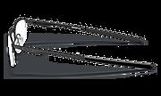 Socket 5.5 - Polished Black