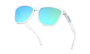 Frogskins® Crystal Collection - Polished Clear / Sapphire Iridium