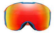 Airbrake® XL Snow Goggles - Hazard Bar Blue Orange