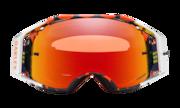Airbrake® MX Goggles - Troy Lee Design Megaburst Orange Navy / Prizm MX Torch Iridium