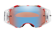 Airbrake® MX Goggles - Troy Lee Design Red White Blue / Prizm MX Sapphire Iridium