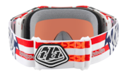 Airbrake® MX Goggles - Troy Lee Design Red White Blue