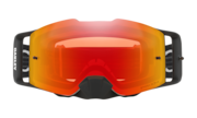 Front Line™ MX Goggles - Matte White Speed / Prizm MX Torch Iridium