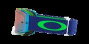 Front Line™ MX Goggles - Flo Lime Blue