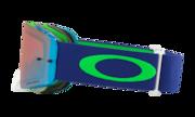 Front Line™ MX Goggle - Flo Lime Blue