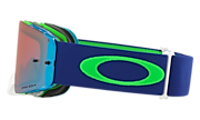 Front Line™ MX Goggles - Flo Lime Blue