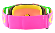 Front Line™ MX Goggles - Flo Pink Yellow
