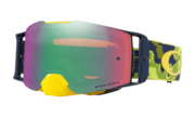 Front Line™ MX Goggle - Thermo Camo Green Yellow