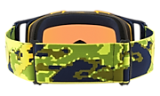 Front Line™ MX Goggles - Thermo Camo Green Yellow
