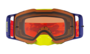 Front Line™ MX Goggles - Thermo Camo Orange Red