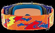 Front Line™ MX Goggles - Thermo Camo Orange Red