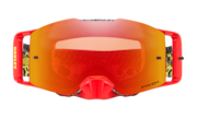 Front Line™ MX Goggles - Dazzle Dyno Red Yellow / Prizm MX Torch Iridium