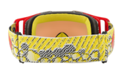 Front Line™ MX Goggle - Dazzle Dyno Red Yellow
