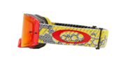 Front Line™ MX Goggles - Dazzle Dyno Red Yellow