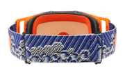 Front Line™ MX Goggle - Dazzle Dyno Blue Orange