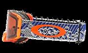 Front Line™ MX Goggles - Dazzle Dyno Blue Orange