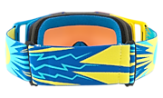 Front Line™ MX Goggles - High Voltage Blue Yellow