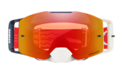 Front Line™ MX Goggle - High Voltage Red Navy