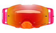 Front Line™ MX Goggles - Pinned Race Orange Red