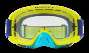 O-Frame® 2.0 MX Goggles - Flo Lime Blue / Clear