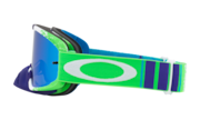 O-Frame® 2.0 MX Goggles - Pinned Race Green Blue