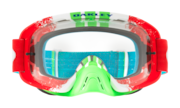 O-Frame® 2.0 MX Goggles - Pinned Race Red Green / Clear