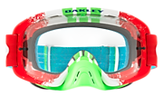 O-Frame® 2.0 MX Goggles - Pinned Race Red Green