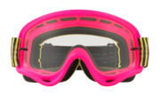 O-Frame® MX Goggles - Shockwave Flo Pyg / Clear