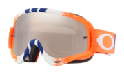 O-Frame® MX Goggles - Pinned Race Orange Blue Red / Black Iridium